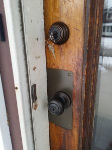 image of an old antique door